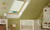 Галерея интерьеров в мансардах с комплектами продукции VELUX