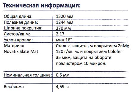 Novatik Slate техническая информация