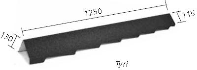 Торцевая планка левая