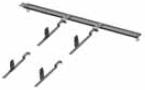 Крепления для кровельной лестницы (1 сегмент)