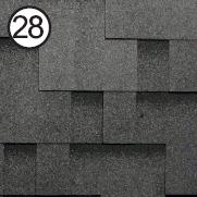 roofshield бархатно-черный модерн
