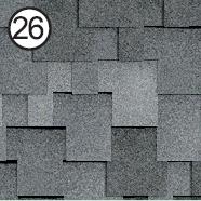 руфшильд модерн серый с оттенением