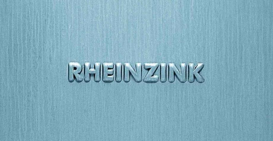 маркировка водостока rheinzink