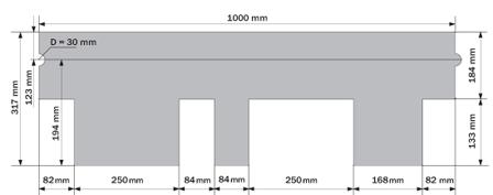 Ruflex Runa размеры