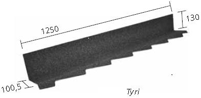 Планка примыкания левая