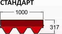 битумная черепица Руфшильд Стандарт